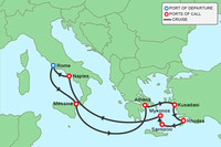 Celebrity Reflection Cruise to the Greek Islands.